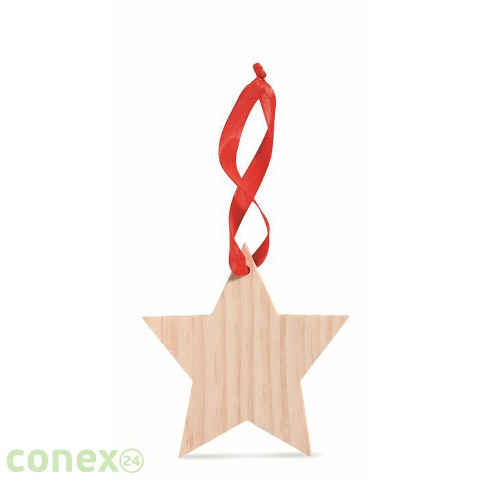 Zawieszka w kszatłcie gwiazdki WOOSTAR