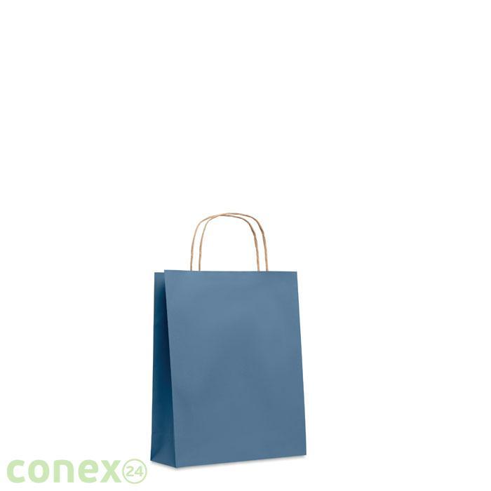 Mała torba prezentowa PAPER TONE S (granat)
