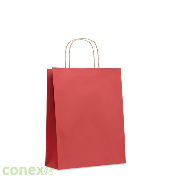 Średnia prezentowa torba PAPER TONE M (czerwony)