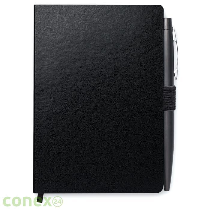 Notatnik formatu A6 z długopisem NOTALUX