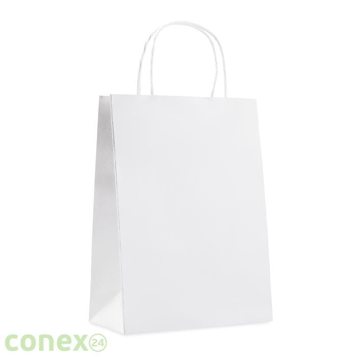 Paprierowa torebka ozdobna średnia PAPER MEDIUM