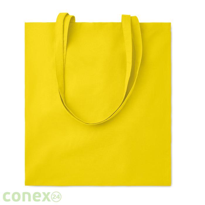 Bawełniana torba na zakupy COTTONEL COLOUR ++ (żółty)