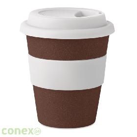 Kubek łuski kawowe/PP BRAZIL WHITE
