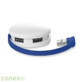 Rozdzielacz USB 4 porty ROUNDHUB