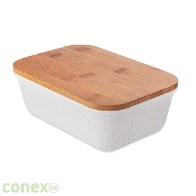 Lunchbox z bambusową pokrywką FANCY LUNCH