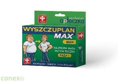 Tabletki - Wyszczuplan Max - Man