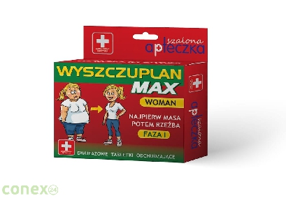 Tabletki - Wyszczuplan Max - Woman